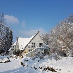 15 cm de neige au jardin de saint jean