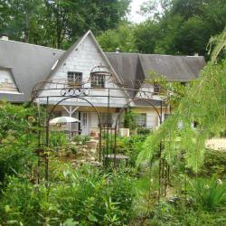 La maison du jardin de Saint Jean (façade)