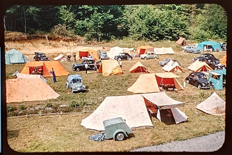 Le parking du jardin de saint jean dans les années 50