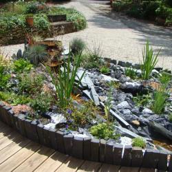 la fontaine du jardin de saint jean