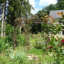 la gloriette du jardin de saint jean